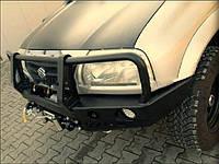 Бампер передний для Suzuki Grand Vitara 1998-2004 без кенгурятника
