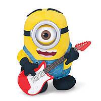 Интерактивный миньон Стюард с гитарой. Minions Rock' N Roll Stuart, фото 1