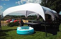 Шатер-палатка Парк (Park) 4х4 без стен и штор, (каркас-алюминий), фото 1