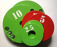 Набор дисков (блинов) для штанги 5-10-15-20 кг (100 кг)