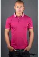 Мужская футболка Жорж бордовый