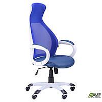 Офисное кресло Cobra Кресло Cobra белый, сиденье Неаполь N-22/спинка Сетка синяя