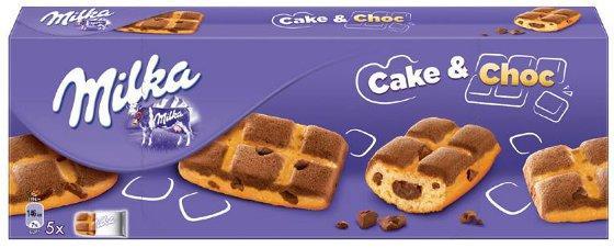 Кекс Milka Cake & Choc 5X35г