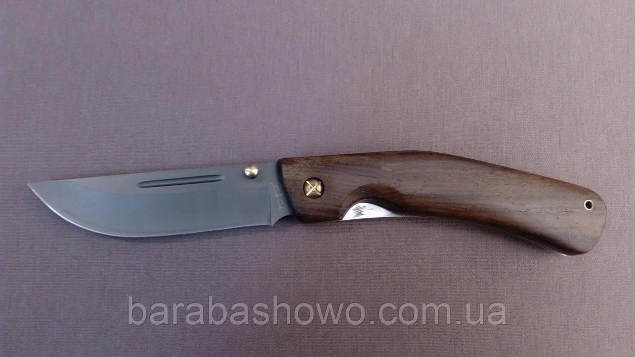 Нож складной Армейский боевой клинок Ворон Black