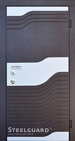 Входная дверь ТМ Стилгард Vinge двухцветная