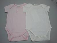 Набор для младенцев: боди с коротким рукавом 2 шт. (Турция)