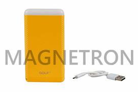 Power Bank (внешний аккумулятор) GOLF D80GB Li-Polymer 2xUSB 5V 8000mAh (code: 21960)