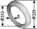 Кольцо уплотнительное 02.018 Г9-ОЦМ-5