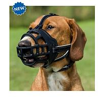 """Намордник силиконовый  """"Flex"""" L, 27см, черный,  для собак"""