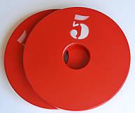 Диск олимпийский металлический 5 кг
