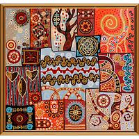 """Схема-рисунок для вышивки бисером (атлас) """"Магические узоры"""""""