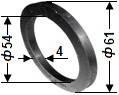 Кольцо основания уплотнительное 02.021 Г9-ОЦМ-5