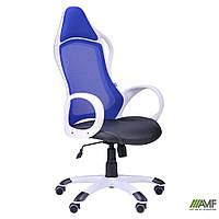 Компьютерное кресло Nitro Кресло Nitro белый, сиденье Неаполь N-20/спинка Сетка синяя