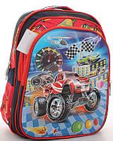 Рюкзак школьный, ранец  с 3Д картинкой