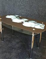 Стол обеденный стеклянный ОС13