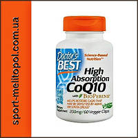 Doctor's BEST High Absorption CoQ10 200 mg 60 кап