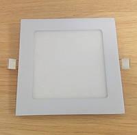 Светильник врезной LED Downlight  12W 6500K/4000К/3000К  170х170мм квадрат алюминиевый корпуc !