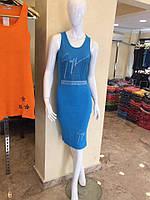 Платье-майка лапша Хит сезона Турция, цвета в наличии