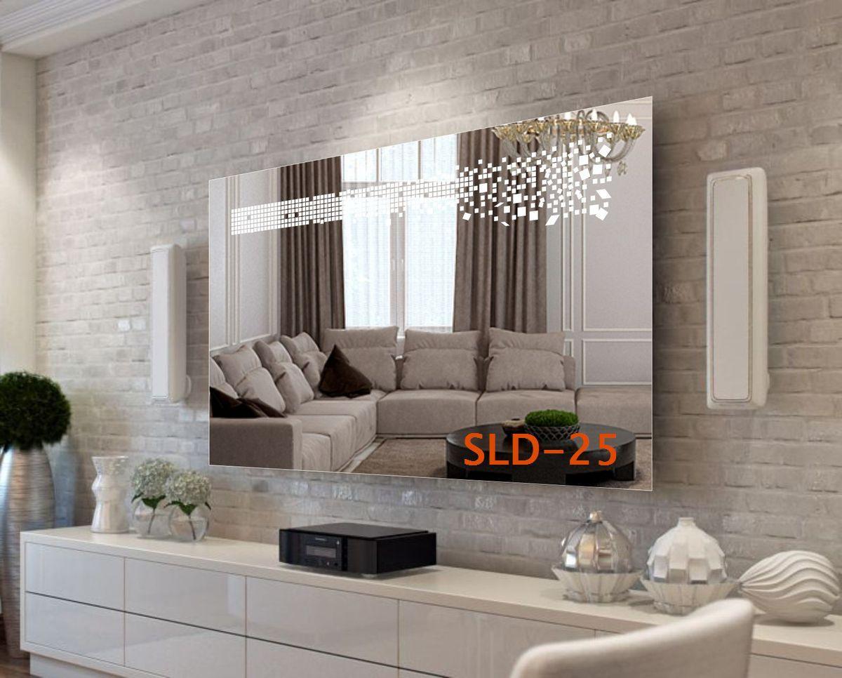 Зеркало со встроенной LED-подсветкой (индивидуальный размер)