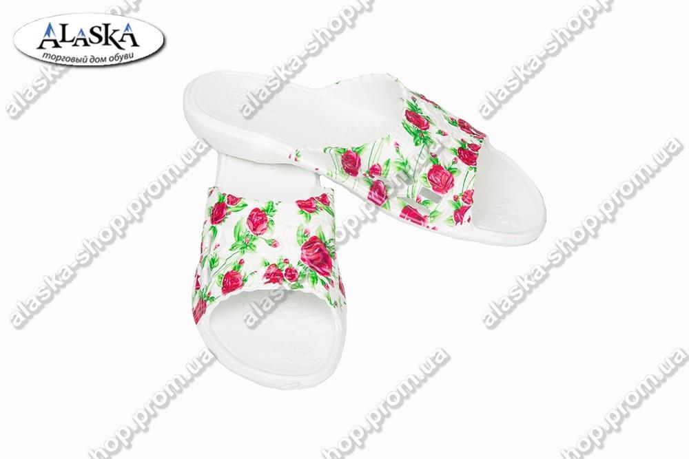 Женские шлепки принт (Код: ПЖ-09)