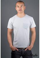 Мужская футболка Жерар 2 серый