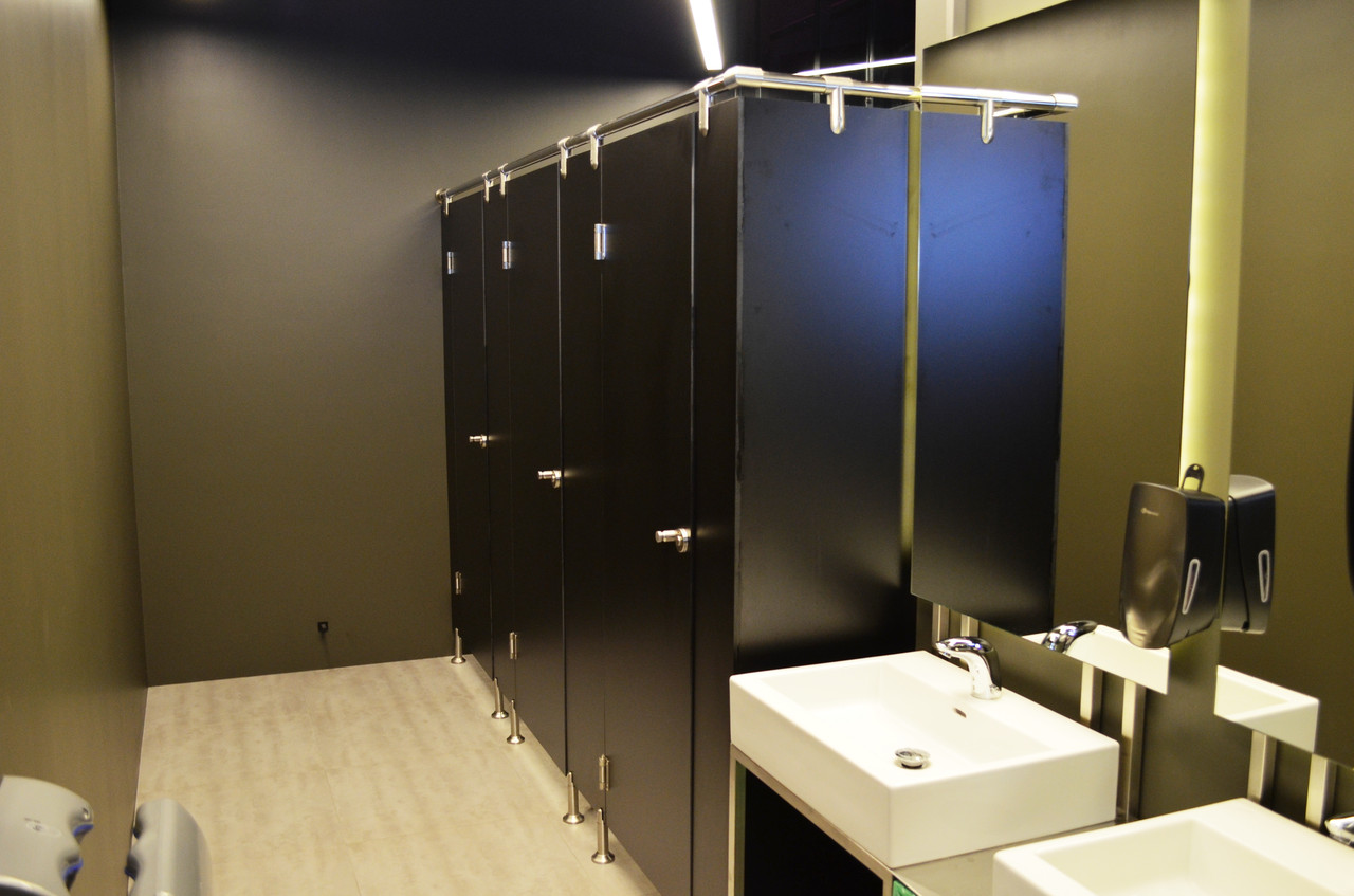 Туалетные перегородки Премиум (HPL 12мм)