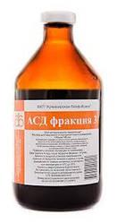Антисептическое средство АСД фракция 3, стимулятор Дорогова, Армавирская биофабрика, 100 мл