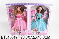 Кукла музыкальная в бальном платье, с аксессуарами, 2 вида