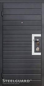 Входные двери Domino двухцветная