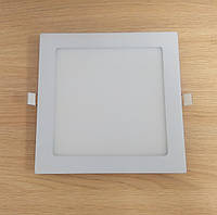 Светильник врезной LED Downlight  18W 6500K/4000К/3000К  215х215х13мм квадрат алюминиевый корпус !