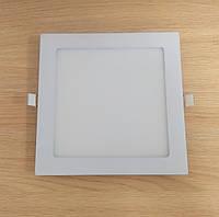 Светильник врезной LED Downlight  18W 6500K/4000К/3000К  215х215мм квадрат алюминиевый корпус !