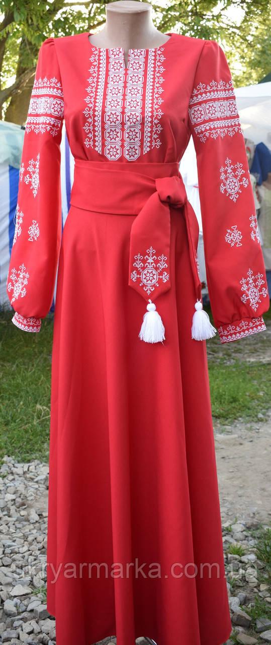 "Сукня  вишиванка  в стилі бохо""Тайстра"""
