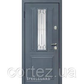Входная дверь ТМ Стилгард Podil двухцветная