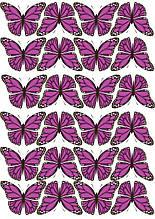 Вафельная картинка Бабочки 4