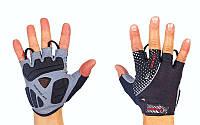 Вело-мото перчатки текстильные SCOYCO BG12 (открытые пальцы, р-р S-XL, цвет в ассорт)