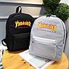 Рюкзак Thrasher черный (реплика), фото 6