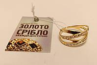 Золотое кольцо Б/У. Вес 3,02 грамм.