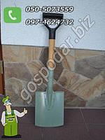 Лопата штыковая сапёрная с дубовым черенком (Украина) — качественный надежный ручной походный инвентарь
