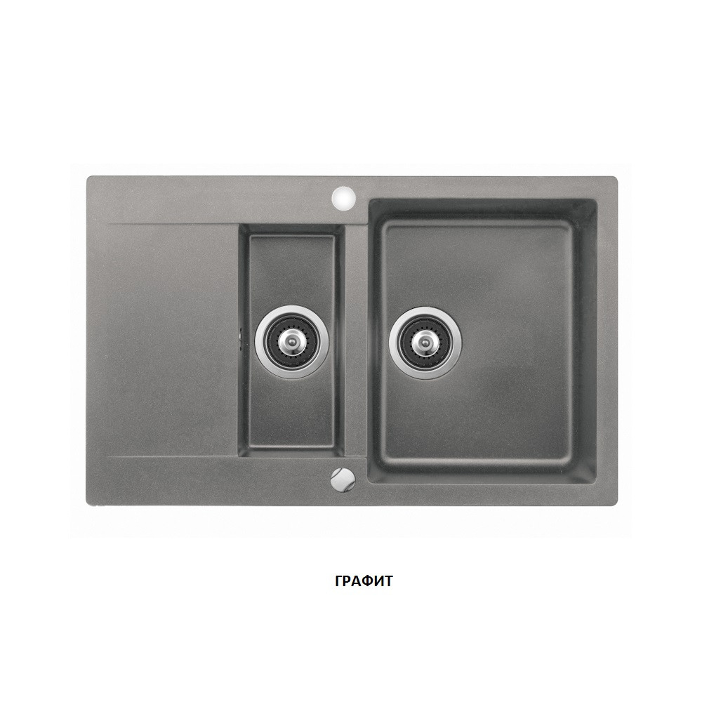 Мойка кухонная гранит TEKA Clivo 60 B-TQ