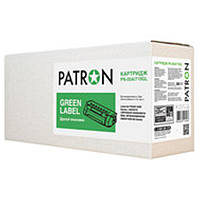 Картридж Patron (PN-05A/719GL) HP LJ P2035/P2055D/2055DN/Canon LBP-6300DN/6650DN/MF5580DR/5840DN Black (аналог CE505A/Canon 719) Green Label