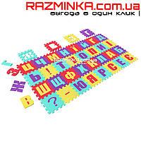 Игровой коврик пазл Азбука 112х112х0,8 см украинская