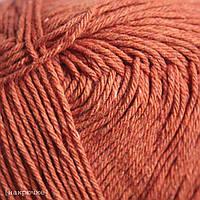 Пряжа для машинного вязания Vivchari Cottonel 550 м, теракот