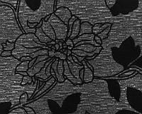 Меблева тканина шенил AROBA BLACK ( виробник Bibtex)