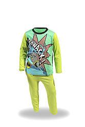 Комплект пижама детская подросток Batman