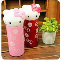 Термо бутылка, детский термос 360ml Hello Kitty H-196