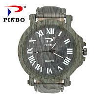 Модные деревянные часы с массивным циферблатом!, фото 1