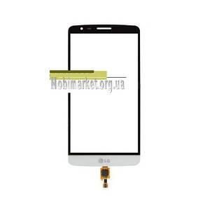 Сенсор (тачскрін) для LG D690 G3 Stylus, D693 G3 Stylus білий, фото 2