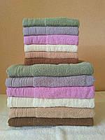 Набор махровых полотенец 12шт