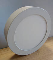 Светильник накладной LED Downlight  24W 6500K/4000К/3000К  300х13мм круглый алюминиевый корпус
