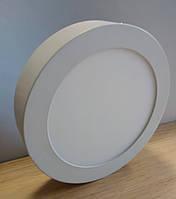 Светильник накладной LED Downlight  24W 6500K/4000К/3000К  300х32мм круглый алюминиевый корпус